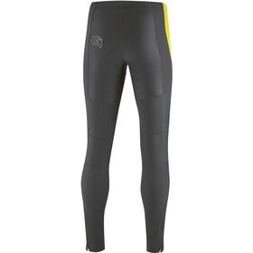 Gonso Montana Hip Pantalon Softshell Peau Homme, black/safety yellow